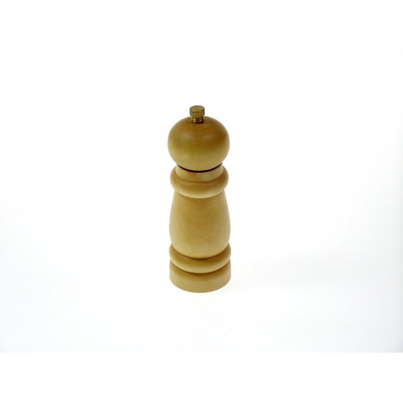 Mlýnek na koření 14 cm dřevěný