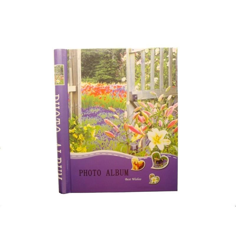 Samolepící foto album 20x27cm 40 ks Květiny