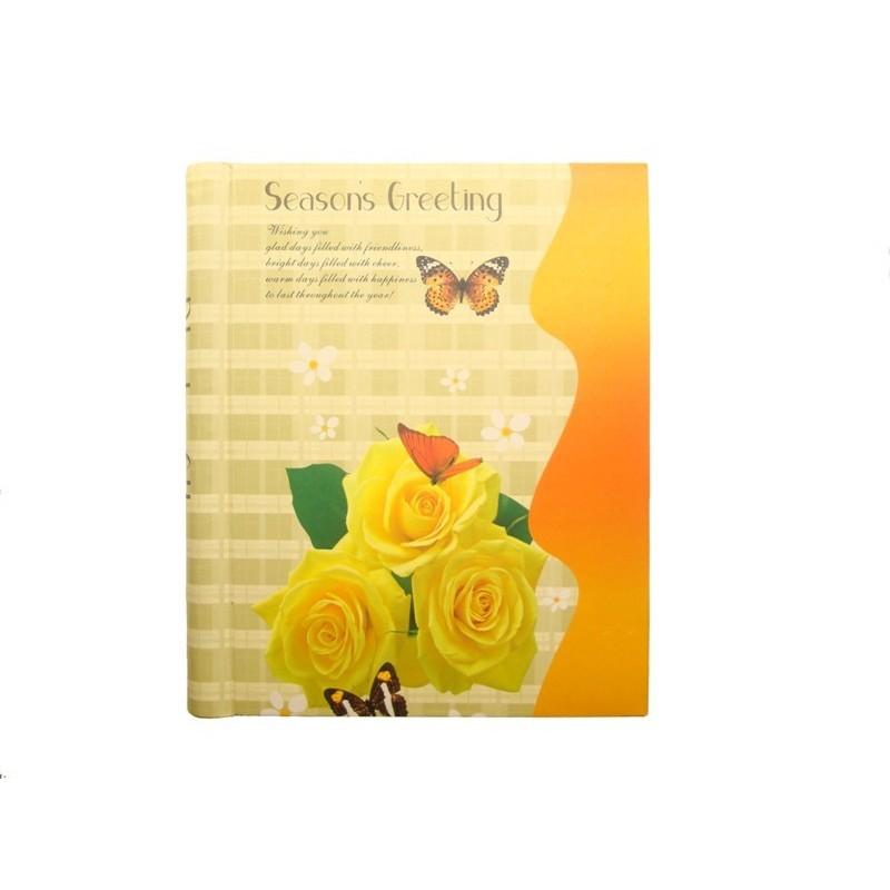 Samolepící foto album 20x27cm 40 ks Žluté růže