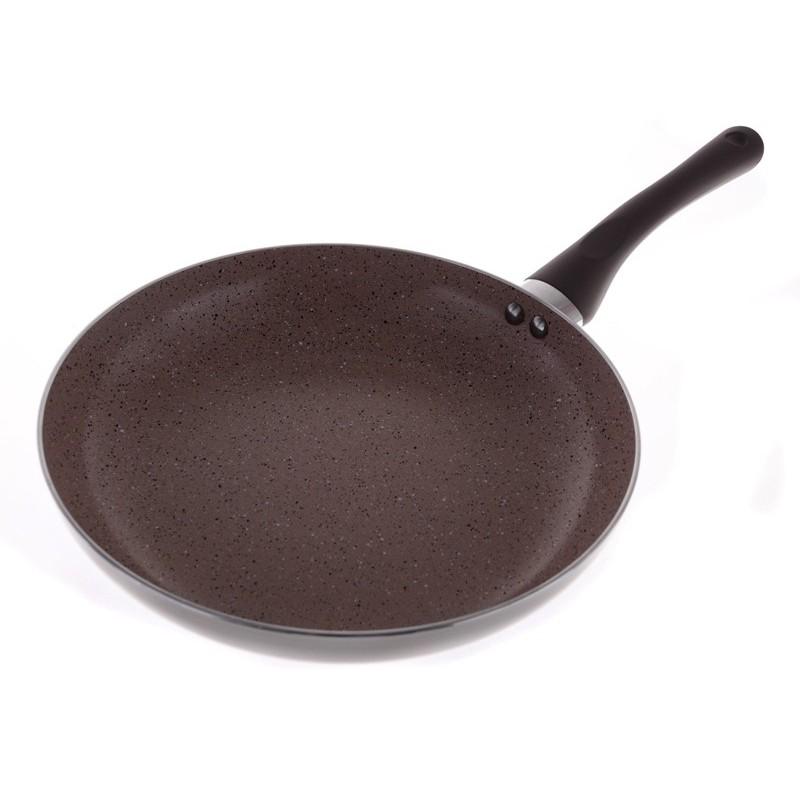 Smart Cook Keramická pánev hnědá 28cm