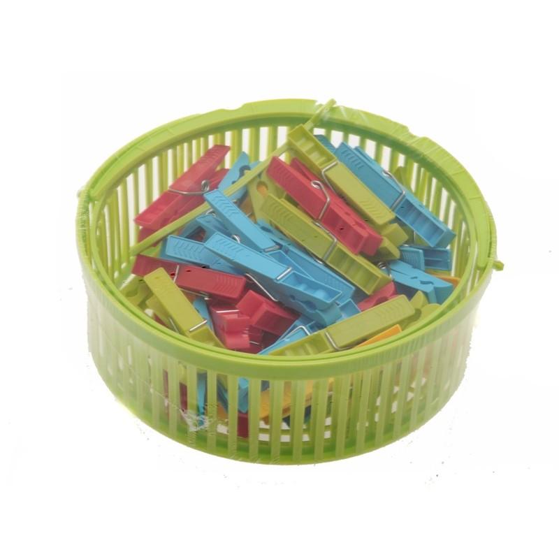 Unihouse Košík s kolíčky plastový 20x8cm