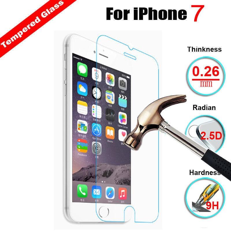 Tvrzené sklo iPhone 7 (3D touch, 9H)