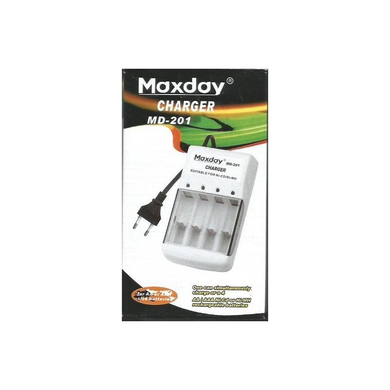 Nabíječka baterií AA, AAA MaxDay