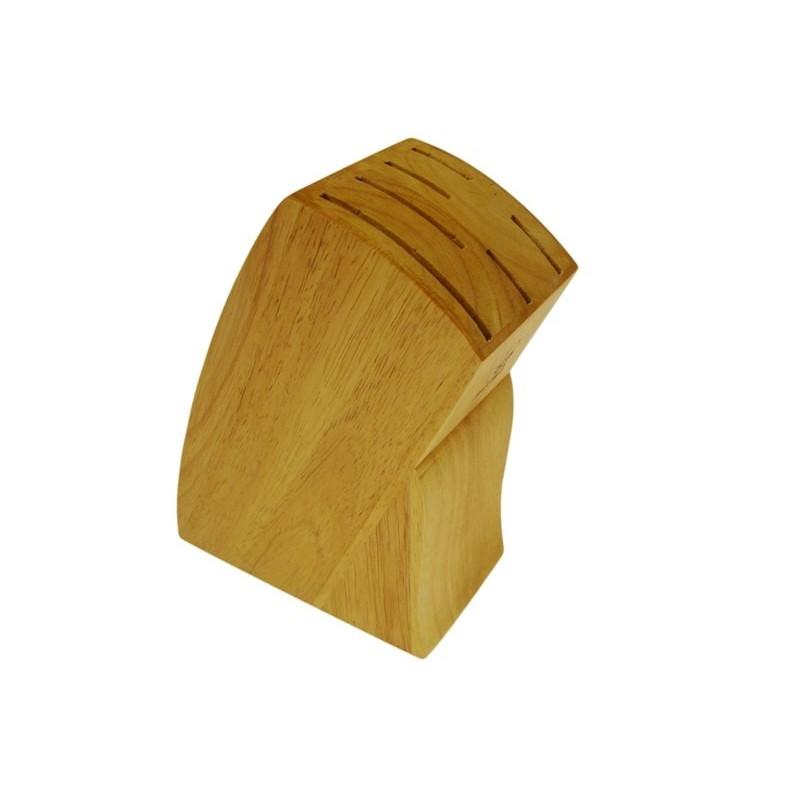 Stojan na nože 22 cm, dřevěný