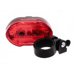 Unihouse Světlo na kolo zadní 4 x 7,5 cm 7 LED diod, 7 typů svícení