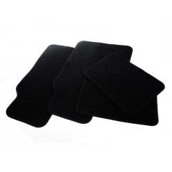 Unihouse Univerzální koberečky do auta 4 ks černá krémová