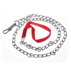 ZooMax Obojek a kovové vodítko řetěz 90 cm
