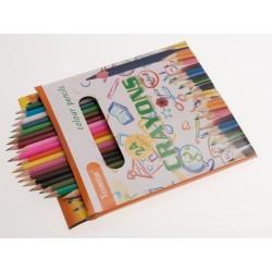 Teamstar Pastelky Crayons 8,5 cm 12 ks