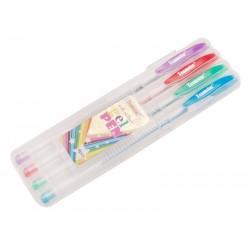 Teamstar Pero gelové 15,5 cm 4 ks mix barev