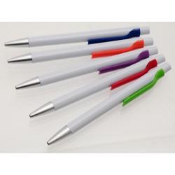 Teamstar Kuličkové pero 13 cm 60 ks - bílá