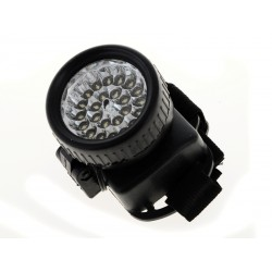 Unihouse Čelové světlo 24 LED 7 x 6,5 x 9,5 cm - černá