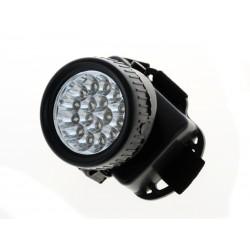 Unihouse Čelovka 17 LED 6,5 x 7 x 9,5 cm - černá