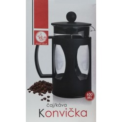 French press Smart Cook 600 ml - černá