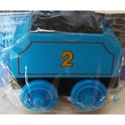 Mašinka Tomáš modrý vagónek s uhlím