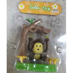 Solární houpající se opička