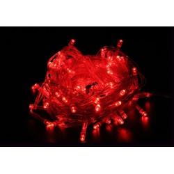 Unihouse Venkovní vánoční 50LED osvětlení 9,5m, červené