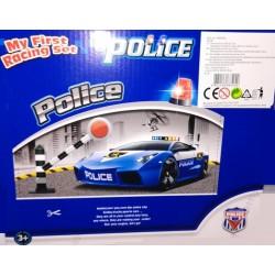 Policejní stanice, garáž - my firts racing set