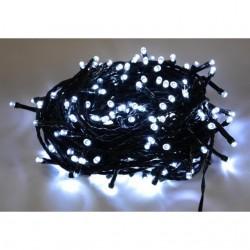 140 LED řetěz 16 m IP44, vánoční dekorativní osvětlení, venkovní i vnitřní použití, studená bílá