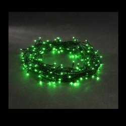 Unihouse Venkovní vánoční 50LED osvětlení 9,5m, zelené