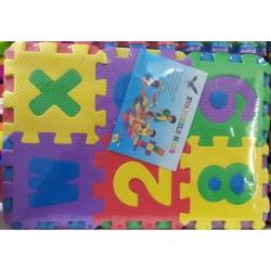 Pěnové puzzle na zem - písmenka 200 x 135 cm