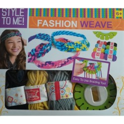 Fashion Weave - holčičí sada na pletení