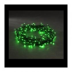 Vánoční osvětlení venkovní / vnitřní, LED řetěz, 200 LED, 20 m zelená