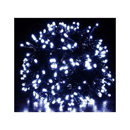 LED Vánoční osvětlení vnitřní – LED řetěz BÍLÝ 50 m, 500 LED