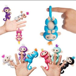 WowWee Fingerlings Interactive Baby Monkey Boris