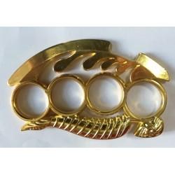 Boxer s kostrou - zlatý