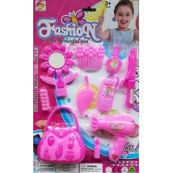 Fashion set doplňků pro panenku - růžová