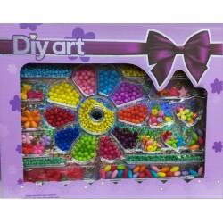 DIY ART Dětské korálky mix