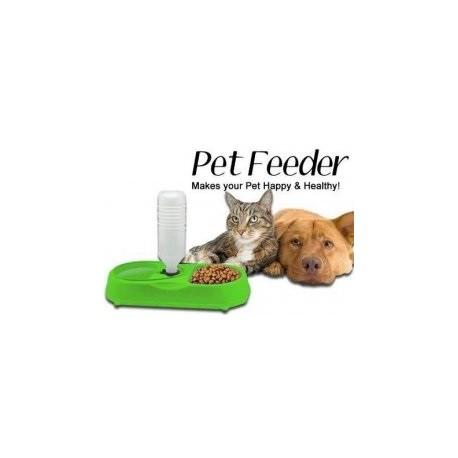Automatický dávkovač krmiva, miska - Pet Feede - modrý