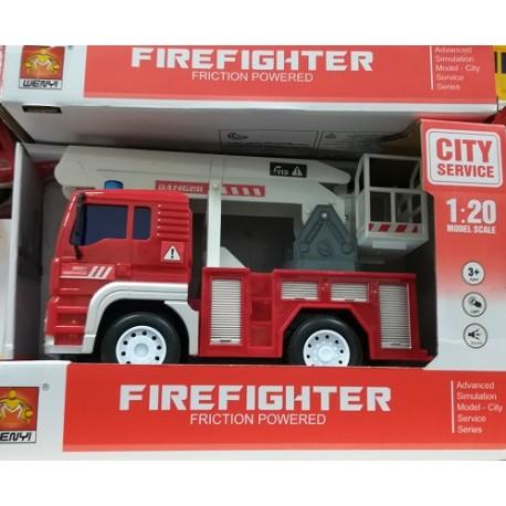 Auto hasičské na baterie WENYI