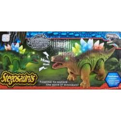 Stegosaurus na baterie