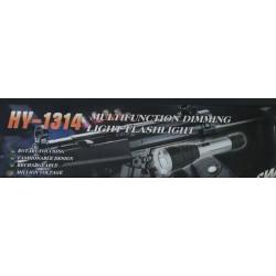 HY-1314 Paralyzér s baterkou černý