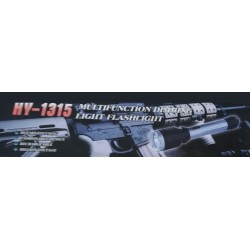 HY-1315 Paralyzér s baterkou černý