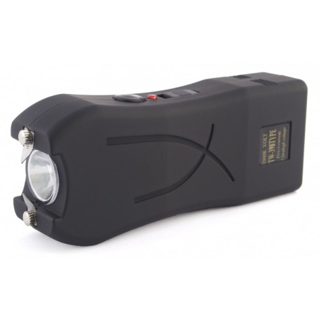 398 Paralyzér s LED svítilnou černý