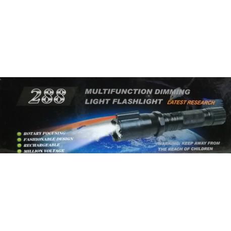 Police T288 Paralyzér s LED baterkou a laserem 20000W