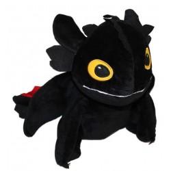 drak Bezzubka černá 10 cm