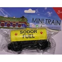 Mašinka Tomáš žlutý vagónek SODOR FUEL