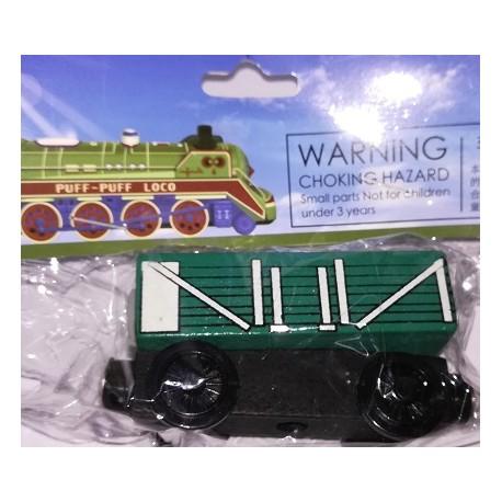Mašinka Tomáš - zelený vagón