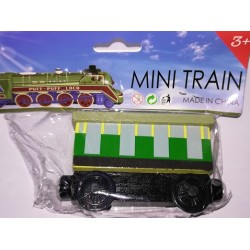 Mašinka Tomáš - zelenožlutý vagón