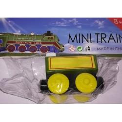 Mašinka Tomáš - žlutý vagónek