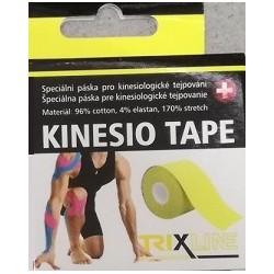 Trixline kinesio tape Classic žlutý 5 cm x 5 m