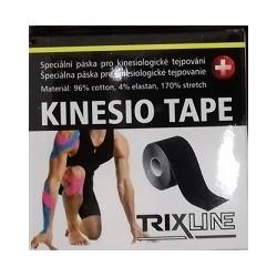 Trixline kinesio tape Classic černý 5 cm x 5 m