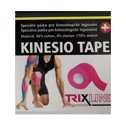 Trixline kinesio tape Classic růžový 5 cm x 5 m