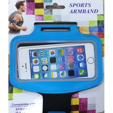 Pouzdro Sports ARMBAND 6G4,7 modré
