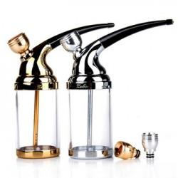 Vodní dýmka šlukovka ZOBO 502 - stříbrná