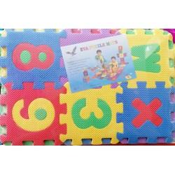 EVA puzzle 30x30cm 36 ks