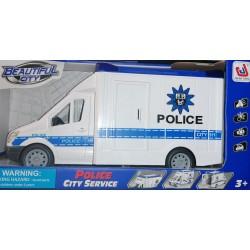 JINJIA TOYS Policie se zvuky a světly 27cm